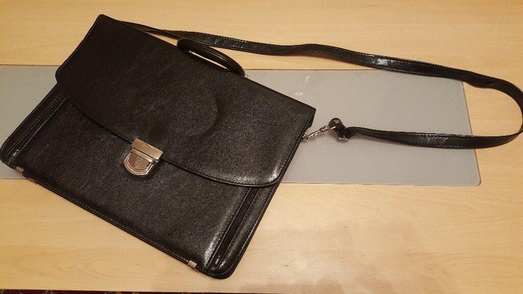 Mens Leather Attache Briefcase (BRAND NEW)