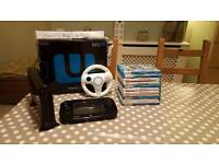 Wii u Premium pack with controllers and 11 games