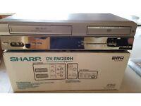 Sharp VHS/DVD Player Recorder