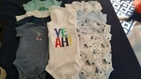 Baby bodysuits bundle- 17 items. Size 12-18 months