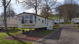 BARGAIN STATIC CARAVAN FOR SALE SITE FEES FROM ONLY £2444 IN STANHOPE, WEARDALE, CO DURHAM.