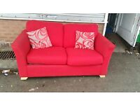 Fabric sofa bed in Excellent condition very comfy