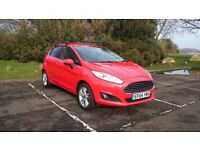 Ford Fiesta 1.25 Zetec 2015 Race Red F/S/H 10 months MOT 34000 miles fantastic condition