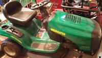 Weedeater lawn tractor