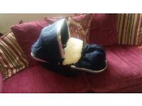 Mothercare orb carrycot/seat ONLY..NO pram frame