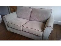 Grey Suede Sofa - Quick Sell