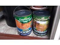 Cupinol fence paint 5 liter - autumn gold