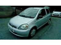 02 Toyota Yaris 1.0 GS 3 Door MOT 12/06/2019 LOW INS Very nice car can Be seen ANYTIME