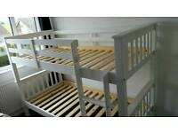 Bunk bed new navaro in 2 colours available with free assembly