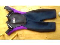 Ladies Wetsuit, Size 8