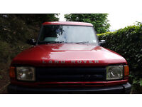 Land Rover Discovery 3.9 efi commercial gas converted