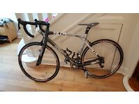 BMC SL01 Road Racing Bike - Excellent Condition - Carbon Fiber Alloy 56.5 inch Frame - Easton Wheels