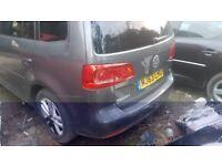 Volkswagen TOURAN, 2013, Auto, breaking for parts
