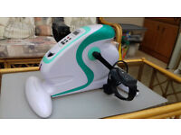 Aidapt Fitness Pedal Electric Mini Exercise Bike, Home cardio workout, model VP159R