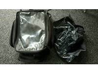 Large Oxford motorcycle magnetic tank bag expandable