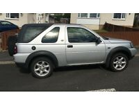 Land Rover Freelander Hard/soft top 1.8 EXi Petrol Manual metallic silver for Spares or repair