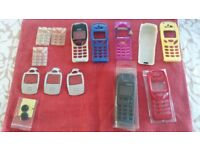 Assorted Nokia mobile covers, NEW.