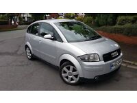 AUDI A2 (1.4 TDI) SILVER - [AWESOME MPG] Bargain Price!!!