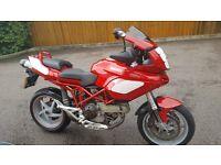 Ducati multistrada 2004 1000DS Low mileage Red
