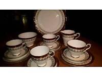 Royal Stafford vintage bone china tea set