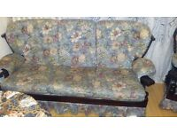 sofa and 2 chair's