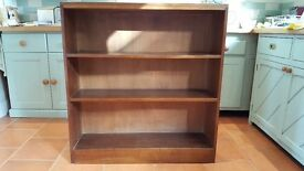Solid wooden shelf unit