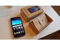 Samsung S4 Mini Mobile Phone in Purple