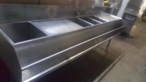 Lavabo évier en acier inoxydable Bar- 6 Feet!