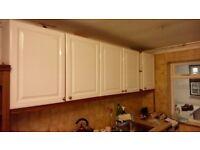 Kitchen units, Sink + Fitted Fridge