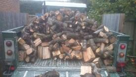 Dry &a Seasoned Logs, £125
