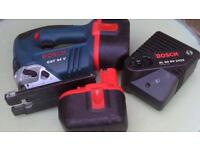 BOSCH CHARGER AL 60 DV 2425 with GST 24 V JIGSAW spare or repair 2X 24V BATTERY