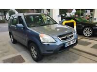 2003 Honda CRV auto petrol 4/4 fully loaded long mot sat nav£1299 exporters wel Rav4 jeep