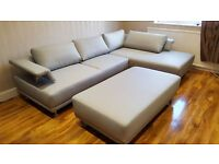 Delivery 1-3 days BRAND NEW ROME LEATHER CORNER SOFA CORNER We Can Delivered