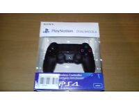 Black Offical PS4 Controller