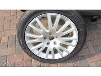 Audi A4 Alloy wheel with Dunlop Maxx Tyre 235 x 45x 17 ZR