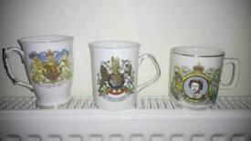 Qeen Elizabeth mugs an cups