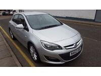 2012 VAUXHALL ASTRA ACTIVE SILVER 1.4 16V MANUAL **ONLY 17903 MILES**