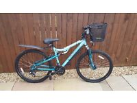 "Ladies Mountain bike 21 speed 17"" frame in excellent condition"