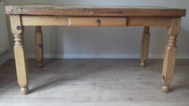 Mexican Pine Dining Table, £39.99