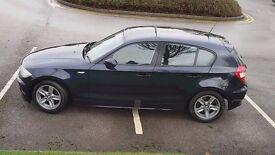 55 REG BMW 120D SPORT AUTO BLUE 1 SERIES 98K FULL HISTORY