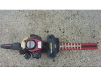Kawasaki professional heavy duty hedge cutters near mint hardly used cost over £400