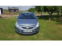 2009 corsa 1.4 design. 2 owners from new .
