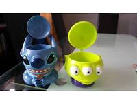 Disney on ice cups stitch and alien