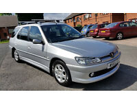 PEUGEOT 306 ESTATE **11 MONTHS MOT**
