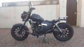 Keeway super light 125cc motorbike