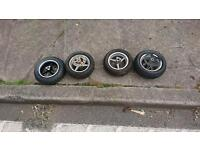 Midi moto wheels and tyres. See listing for sizes.
