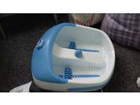 Bubble foot massager