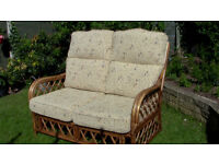 Cane Conservatory Settee