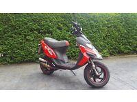 Gilera Stalker Nkd 50cc Moped Scooter (Derestricted 50mph) *1 Year MOT, V5C Paperwork*