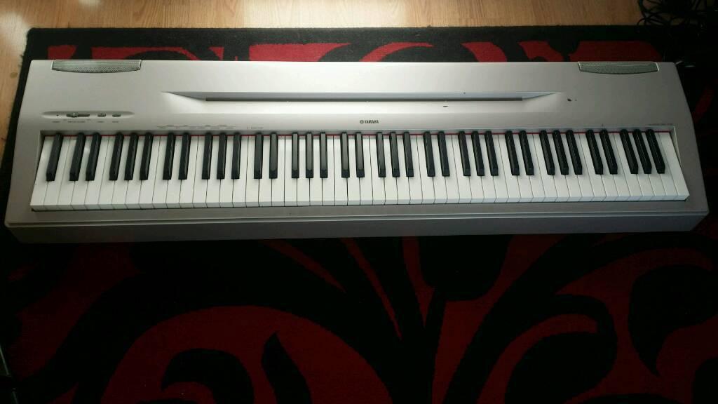 Yamaha P60 Digital Piano Keyboard - 88 Weighted Keys